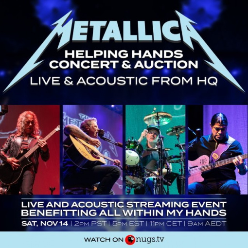 METALLICA Used 'Virtual Crowd' Technology To Get Up Close And Personal With Fans During 'Helping Hands Concert & Auction'