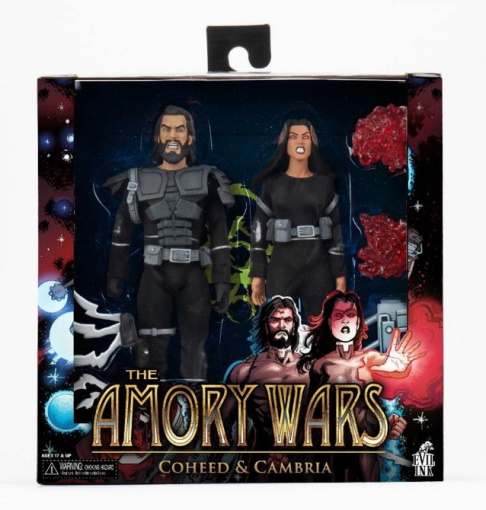 COHEED AND CAMBRIA Joins Forces With NECA For 'The Amory Wars' Action Figures