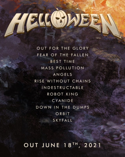 HELLOWEEN To Release New Album In June