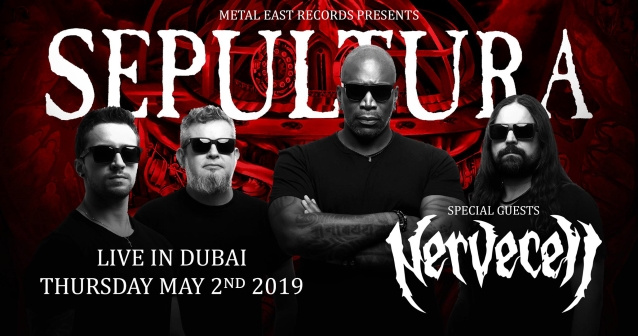 Watch SEPULTURA Perform In Dubai