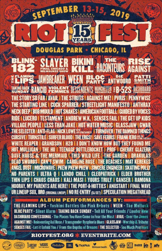 SLAYER To Play Final Chicago And Milwaukee Shows At This Year's RIOT FEST