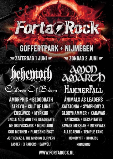 Watch CHILDREN OF BODOM Perform At FORTAROCK Festival