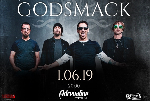Watch GODSMACK Perform In Moscow