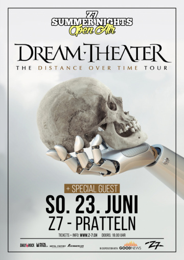 Watch DREAM THEATER Perform In Pratteln