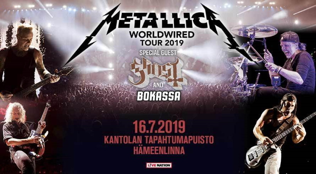 METALLICA: Pro-Shot Video Of Entire Concert In H?meenlinna, Finland