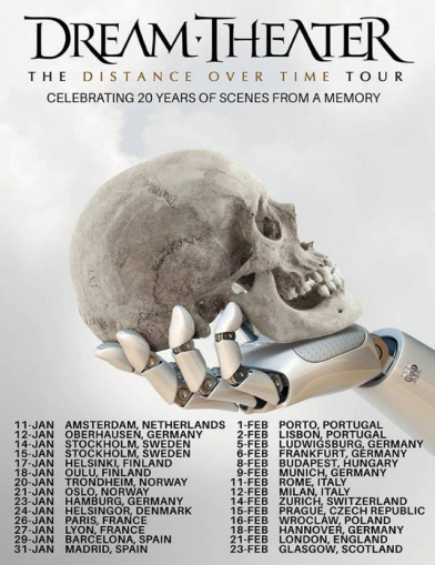 DREAM THEATER Announces Early 2020 European Headlining Tour