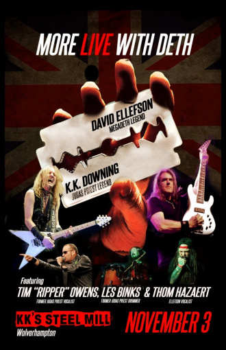 Former JUDAS PRIEST Members K.K. DOWNING, LES BINKS And TIM 'RIPPER' OWENS To Perform Band's Classic Songs At One-Off Concert