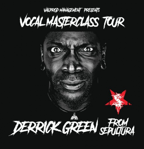 SEPULTURA's DERRICK GREEN Announces European 'Vocal Masterclass Tour'