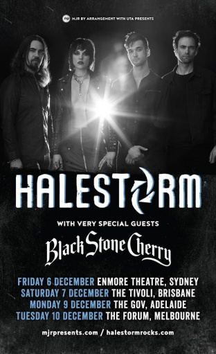 BLACK STONE CHERRY Cancels Australian Tour With HALESTORM Due To 'Family Emergency'