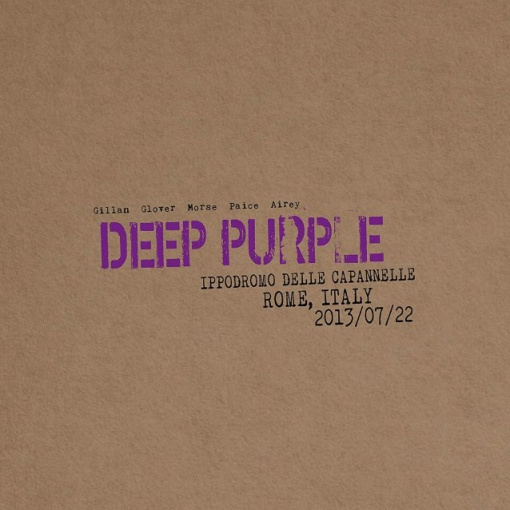 DEEP PURPLE To Release New Live Album, 'Live In Rome 2013', In December