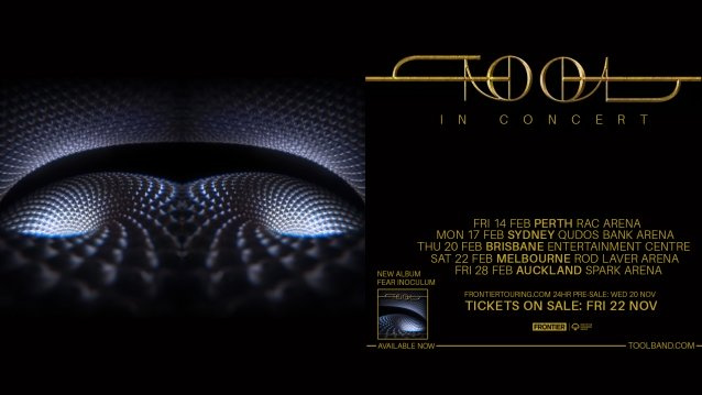 TOOL To Return To Australia And New Zealand For First Time In Six Years