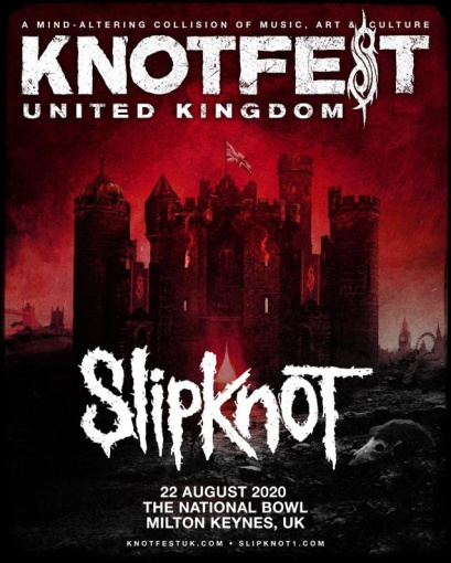 SLIPKNOT Announces First-Ever KNOTFEST UK
