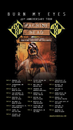 MACHINE HEAD: Pro-Shot Video Of New York City Concert