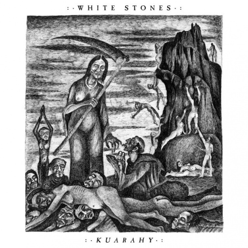 OPETH Bassist MARTIN MENDEZ's Death Metal Project WHITE STONES Releases 'Rusty Shell' Lyric Video
