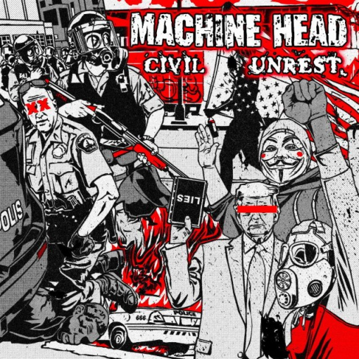 MACHINE HEAD Taps KILLSWITCH ENGAGE Frontman JESSE LEACH For New Song 'Stop The Bleeding'; 'Civil Unrest' Single Out Now