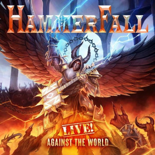 HAMMERFALL to Release 'Live! Against The World' Album In October