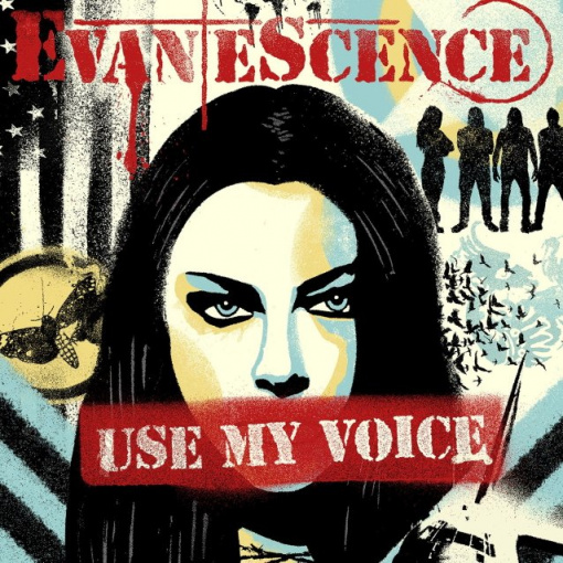 Listen To EVANESCENCE's New Single, 'Use My Voice', Featuring LZZY HALE, TAYLOR MOMSEN, SHARON DEN ADEL And More