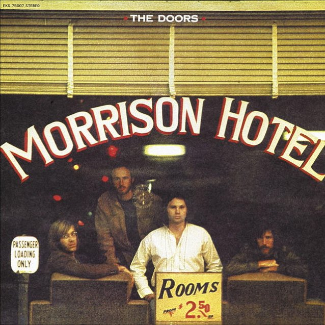 THE DOORS: 50th-Anniversary Reissue Of 'Morrison Hotel' Due In October